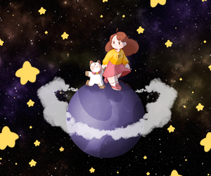 space and bee and puppycat image