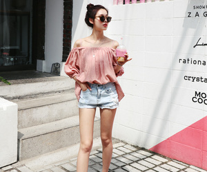 asian fashion, kfashion, and koreanshion image