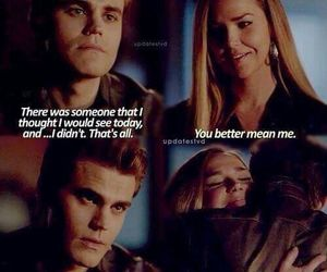 the vampire diaries, quote, and stefan image