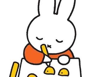 art, bunny, and cartoon image