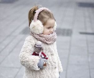 kids, girl, and fashion image