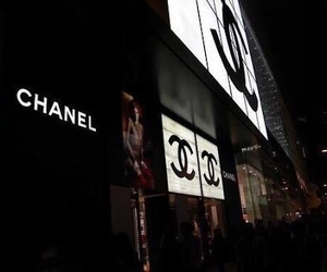 chanel, store, and pretty image
