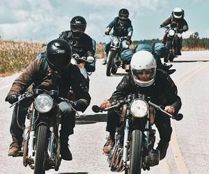 adventure, bike, and motorbike image