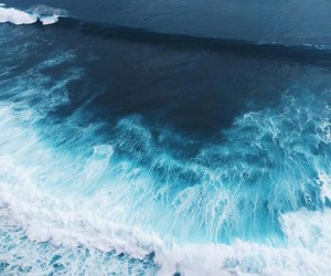 beautiful, ocean, and turquoise image