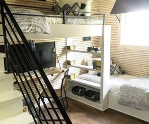 bed room, decoration, and design image