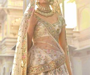 bridal wear, design, and golden image