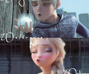 frozen, crossover, and elsa image