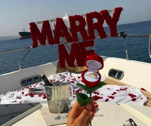 love, couple, and marry me image
