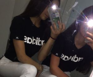 adidas, best friends, and bff image