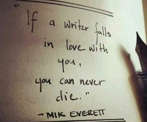 quotes, writer, and love image