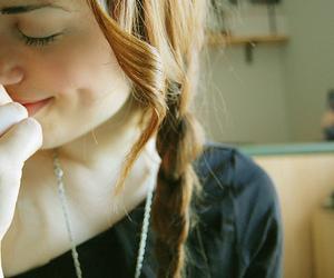 girl, cute, and braid image
