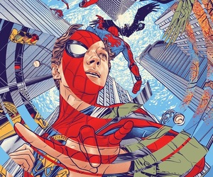 spiderman, homecoming, and Marvel image