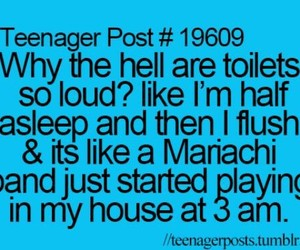 toilet, teenager post, and loud image