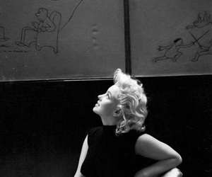 Marilyn Monroe, vintage, and monroe image