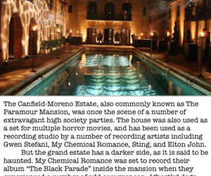 creepy, my chemical romance, and ghosts image