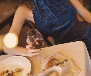 dinner, fashion, and fashion photography image