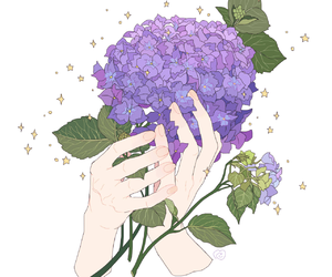 amazing, flowers, and art image