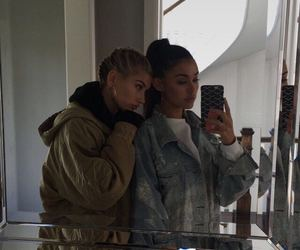 hailey baldwin, madison beer, and friends image