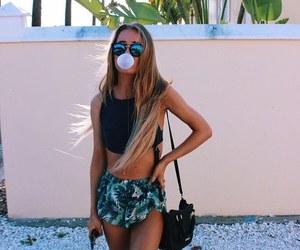 girl, summer, and fashion image