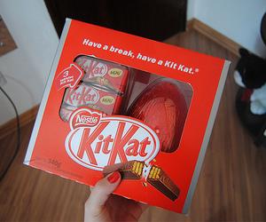 kitkat, food, and chocolate image
