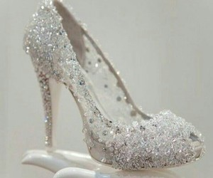 heels, shoes, and cinderella image