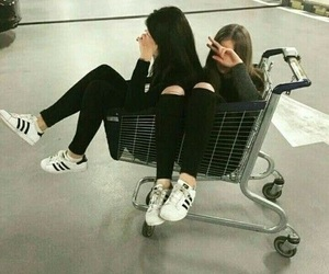 friends, bff, and adidas image