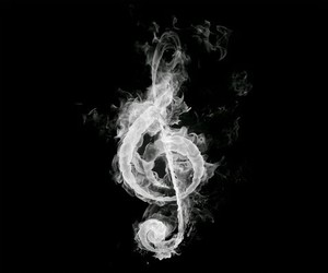 music and fire image