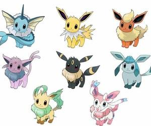eevee, fanart, and pokemon image