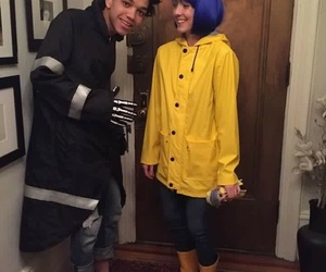 coraline, Halloween, and costume image