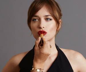 girl, dakota johnson, and fifty shades image