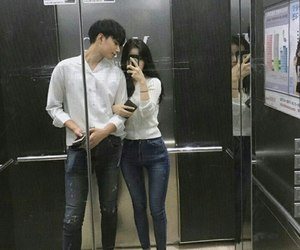 asia, couple, and asian couple image