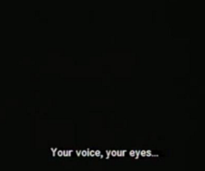 him, love quote, and your voice image