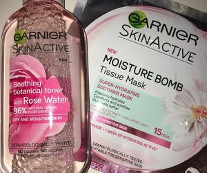 beauty, garnier, and face mask image