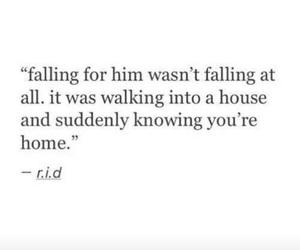 couple, falling, and feelings image