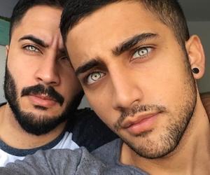 eyes, boy, and guys image
