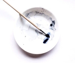 white, blue, and paint image