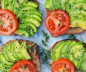 avocado, drink, and food image