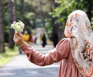 hijab, islam, and style image