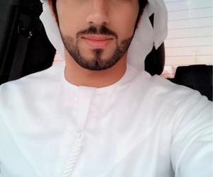 arab, handsome, and beard image