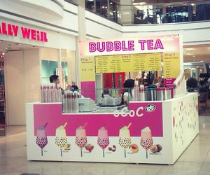 bubble tea, girlie, and places image
