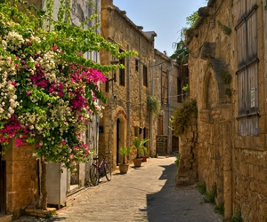 alley, beautiful, and cyprus image