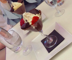 food, glace, and ice cream image