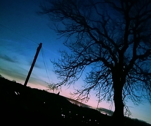 blue, photography, and shadow image