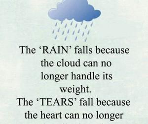 rain and tears image