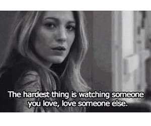 love, sad, and gossip girl image