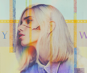 header, blond, and colorful image