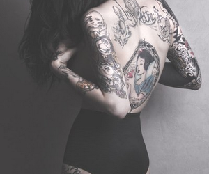 tatto, linda, and mulher image