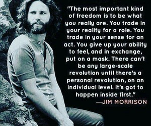 quotes, Jim Morrison, and freedom image