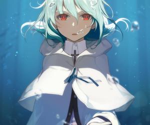 anime girl, drawing, and sweet image
