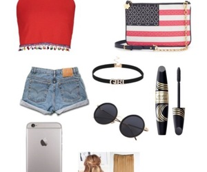 4th of july, blue, and fashion image